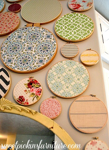 Sweet Pickins Embroidery Art