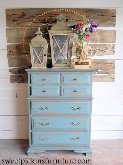 Milk Paint Dresser Before After, Milk Paint Furniture Before And After