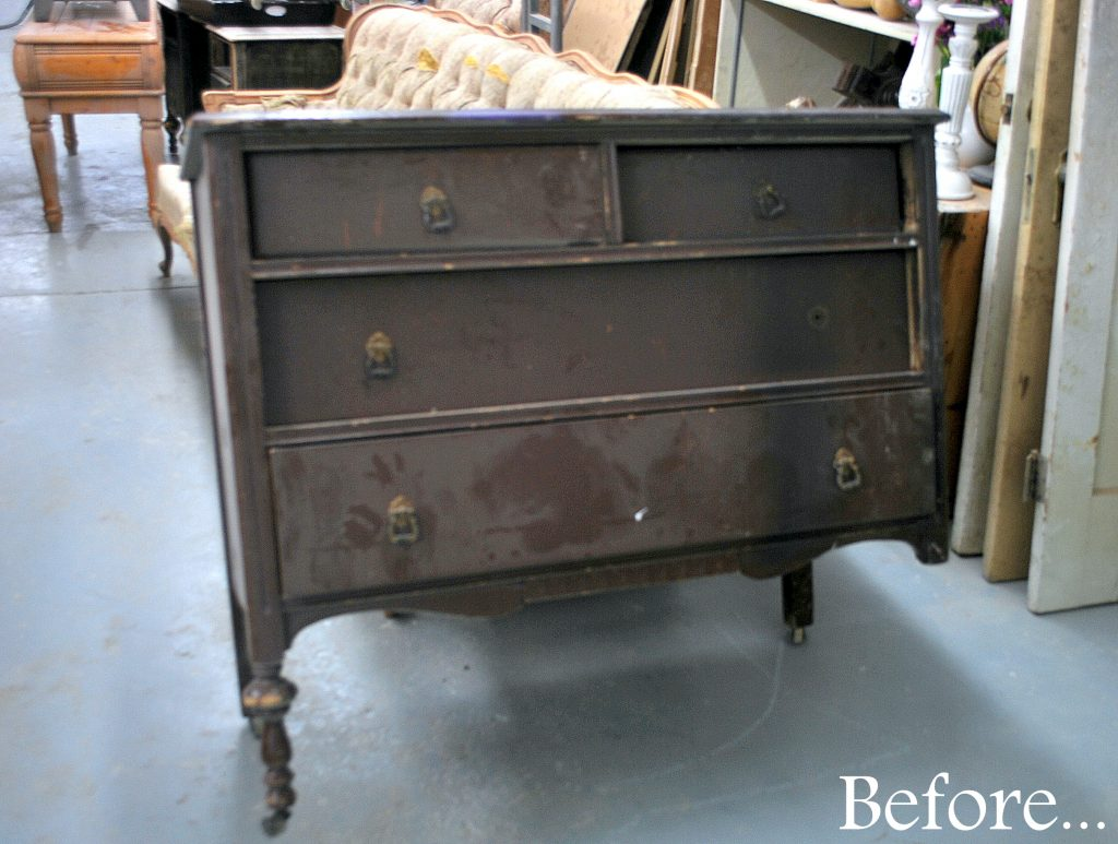 Before Amp After Small Dresser Sweet Pickins Furniture