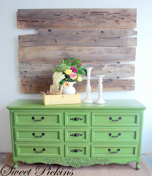 Custom Refinished Dresser