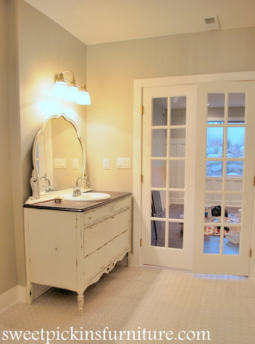 Room Painted Repose Gray With Ultra White Trim