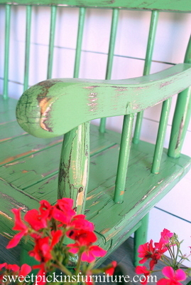 Sweet Pickins Furniture - Sherwin Williams Dill