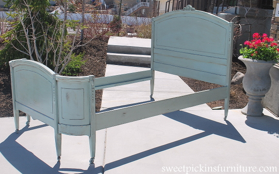 Sweet Pickins Furniture Antique Bed