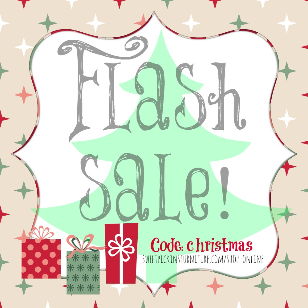 Christmas sale sweet pickins furniture for Furniture xmas sales
