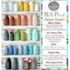 Sweet Pickins Milk Paint - Color Chart