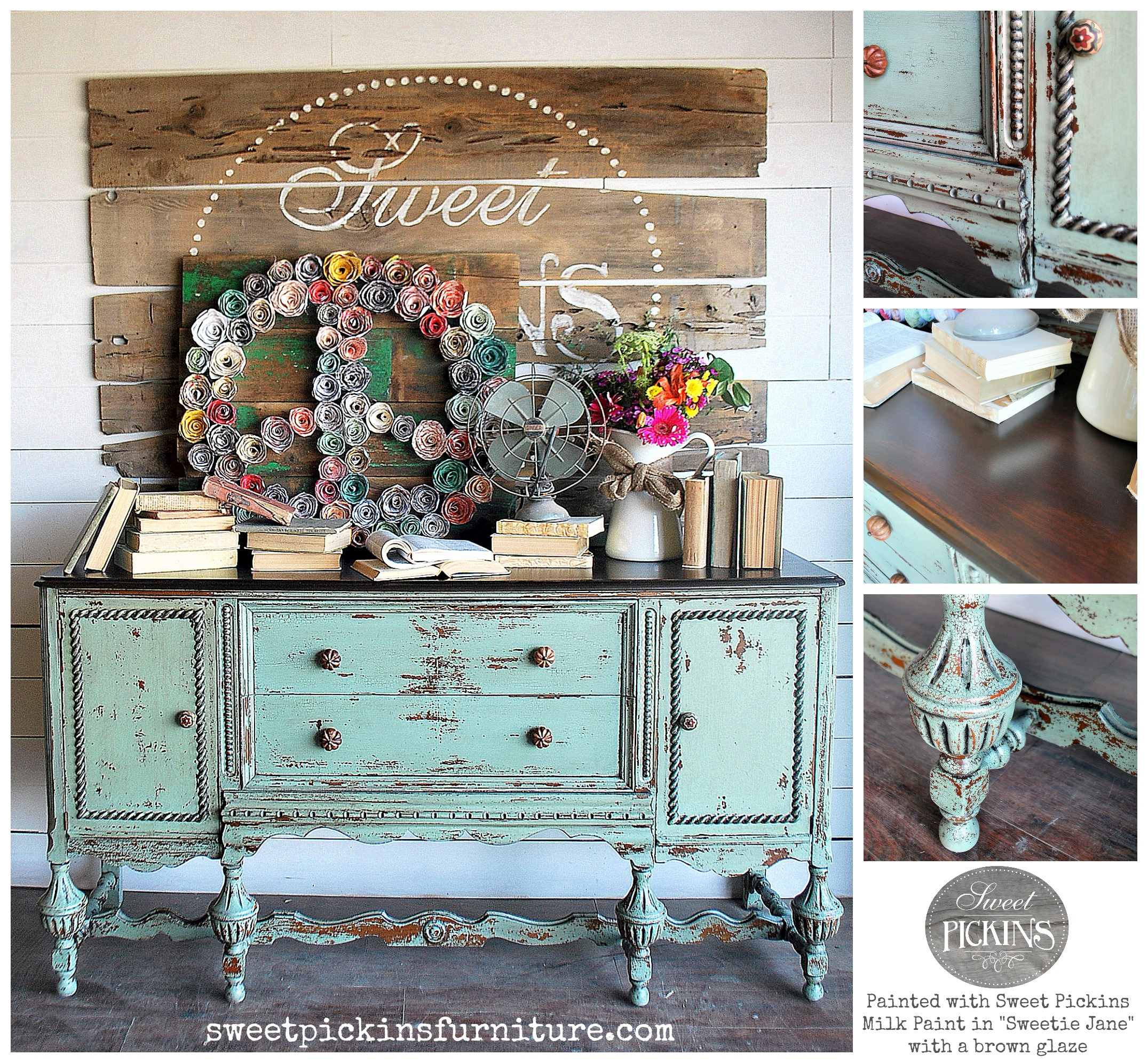 Milk Paint Or Chalk Paint For Furniture